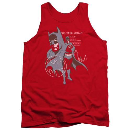 Image for Batman Tank Top - Lean and Muscular