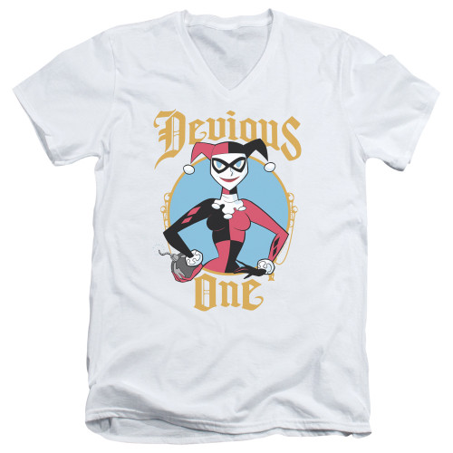 Image for Batman V-Neck T-Shirt - Devious One