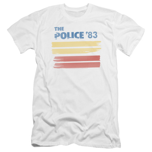 Image for The Police Premium Canvas Premium Shirt - '83