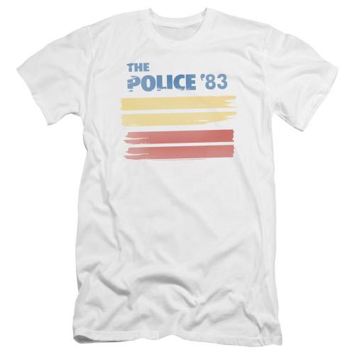 Image for The Police Premium Canvas Premium Shirt - '83