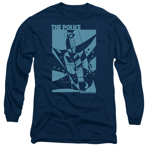 Image for The Police Long Sleeve Shirt - Message in a Bottle