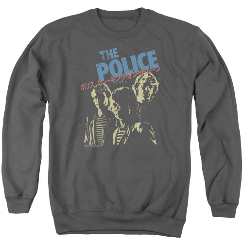 Image for The Police Crewneck - Japanese Poster