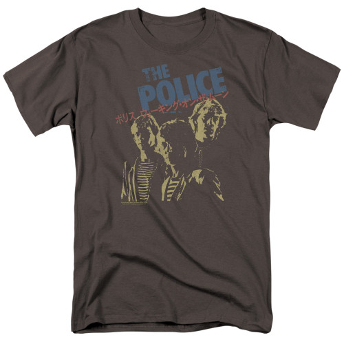 Image for The Police T-Shirt - Japanese Poster