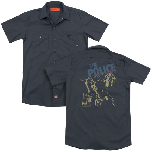 Image for The Police Dickies Work Shirt - Japanese Poster