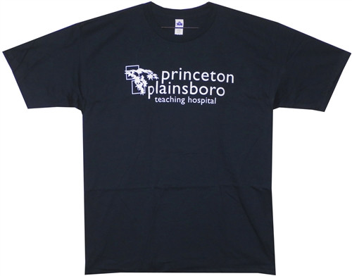 Image Closeup for House Princeton Plainsboro Teaching Hospital T-Shirt