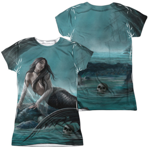 Image for Anne Stokes Girls Sublimated T-Shirt - Sirens Lament