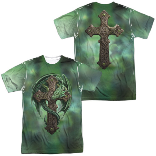 Image for Anne Stokes Sublimated T-Shirt - Woodland Guardian 100% Polyester