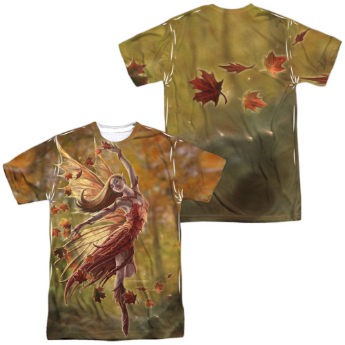 Image for Anne Stokes Sublimated T-Shirt - Autumn Fairy 100% Polyester