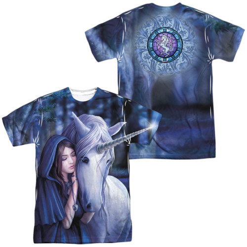 Image for Anne Stokes Sublimated T-Shirt - Solace 100% Polyester