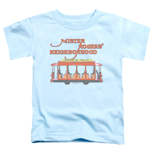 Image for Mr. Rogers Toddler T-Shirt - Trolly
