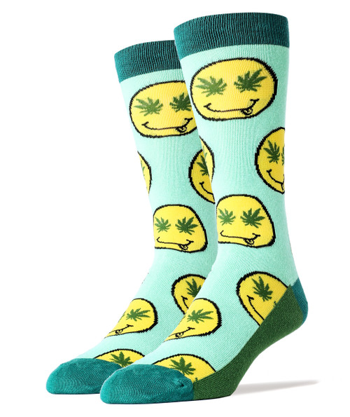 Image for Get Lit Smiley Socks