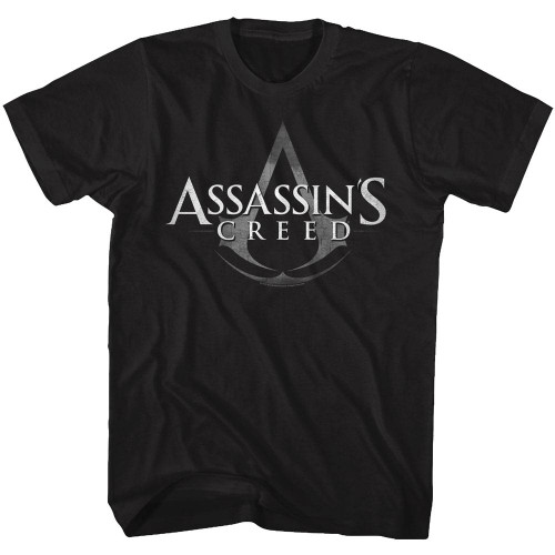 Image for Assassin's Creed Logo with Symbol T-Shirt
