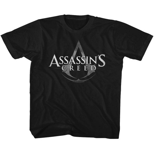 Image for Assassin's Creed Logo with Symbol Youth T-Shirt