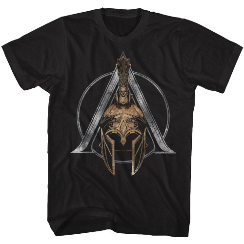 Image for Assassin's Creed Helmet Symbol T-Shirt