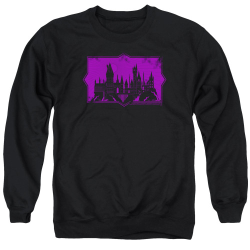 Image for Fantastic Beasts: the Crimes of Grindelwald Crewneck - Howarts Silhouette