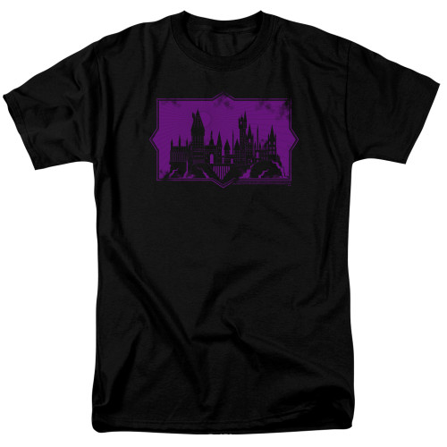 Image for Fantastic Beasts: the Crimes of Grindelwald T-Shirt - Howarts Silhouette