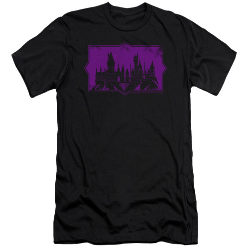 Image for Fantastic Beasts: the Crimes of Grindelwald Premium Canvas Premium Shirt - Howarts Silhouette