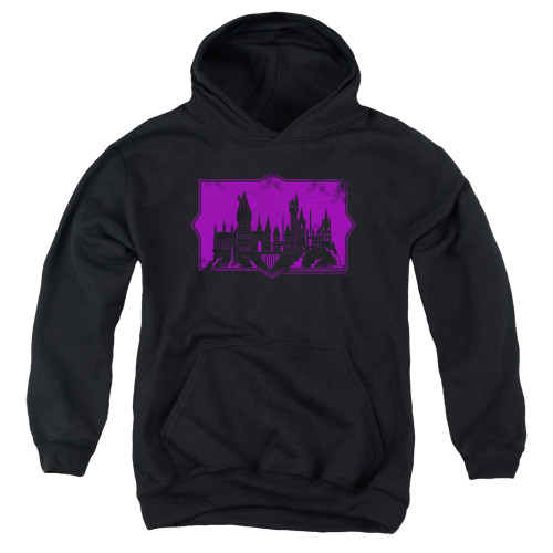 Image for Fantastic Beasts: the Crimes of Grindelwald Youth Hoodie - Howarts Silhouette