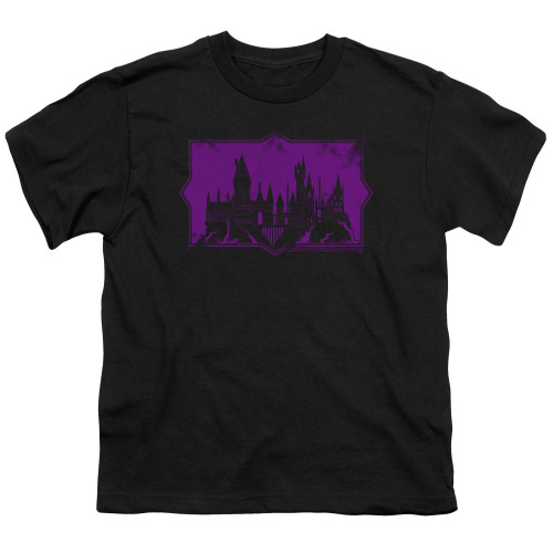 Image for Fantastic Beasts: the Crimes of Grindelwald Youth T-Shirt - Howarts Silhouette