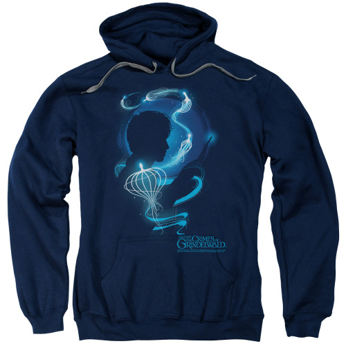 Image for Fantastic Beasts: the Crimes of Grindelwald Hoodie - Newt Silhouette
