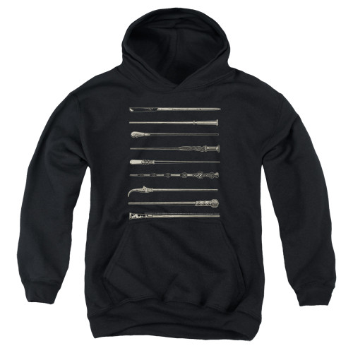 Image for Fantastic Beasts: the Crimes of Grindelwald Youth Hoodie - Wands