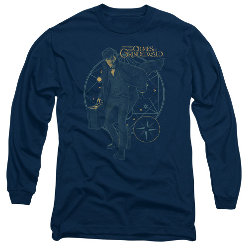 Image for Fantastic Beasts: the Crimes of Grindelwald Long Sleeve Shirt - Suitcase