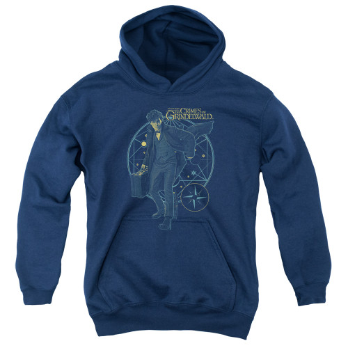 Image for Fantastic Beasts: the Crimes of Grindelwald Youth Hoodie - Suitcase