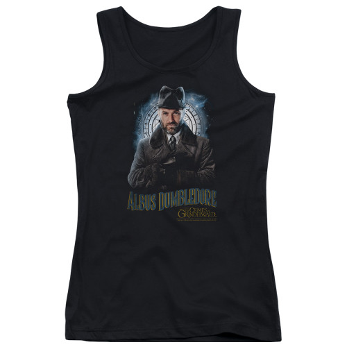 Image for Fantastic Beasts: the Crimes of Grindelwald Girls Tank Top - Dumbledore