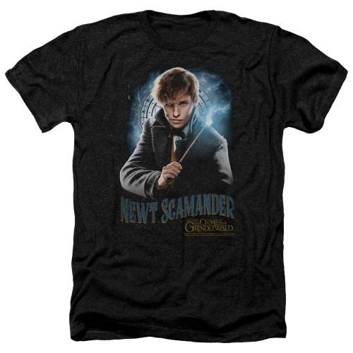 Image for Fantastic Beasts: the Crimes of Grindelwald Heather T-Shirt - Scamander Monogram