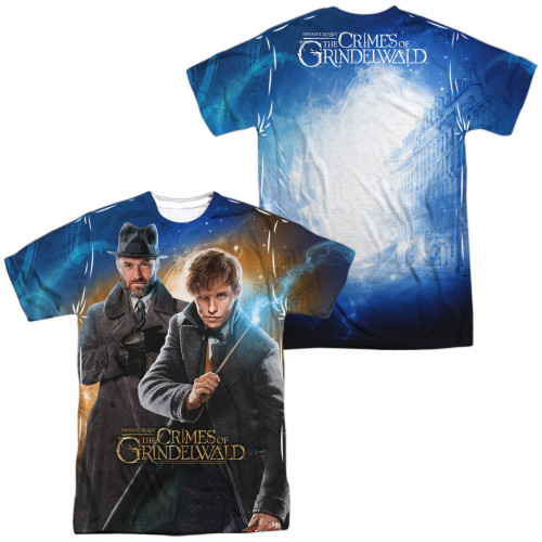 Image for Fantastic Beasts: the Crimes of Grindelwald Sublimated T-Shirt - Team Up 100% Polyester