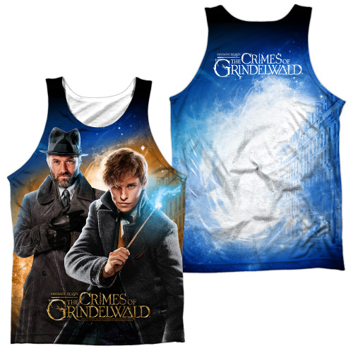 Image for Fantastic Beasts: the Crimes of Grindelwald Sublimated Tank Top - Team Up