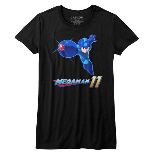 Image for Megaman Girls T-Shirt - Mega 11