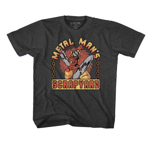 Image for Megaman Scrapyard Sign Toddler T-Shirt