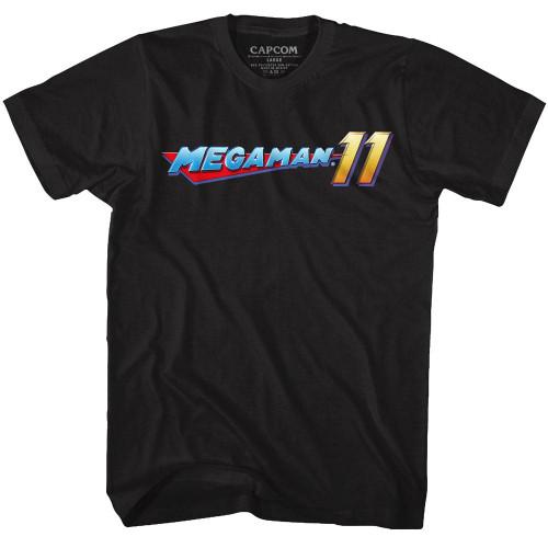 Image for Megaman Mega Logo T-Shirt