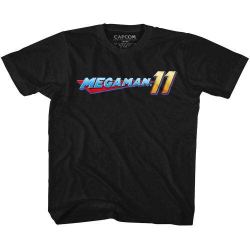 Image for Megaman Mega Logo Youth T-Shirt