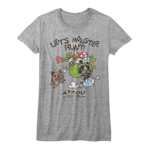 Image for Monster Hunter Girls T-Shirt - Airou Hunter