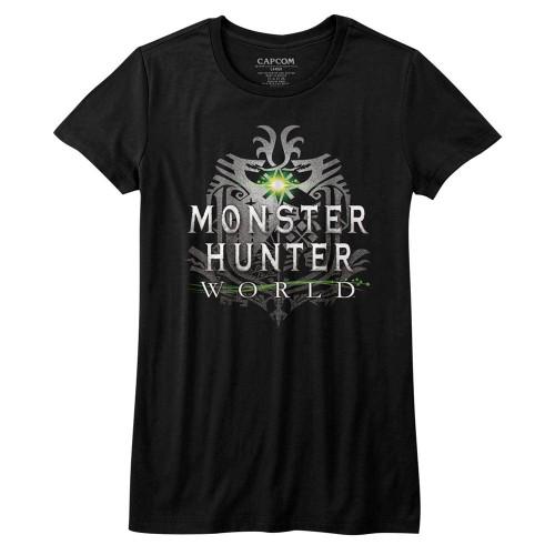 Image for Monster Hunter Girls T-Shirt - MHW Logo