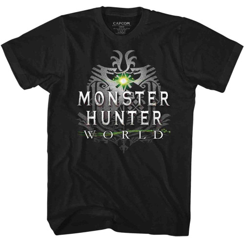 Image for Monster Hunter MHW Logo Youth T-Shirt