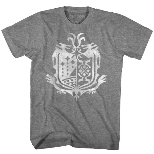Image for Monster Hunter Weathered World Emblem T-Shirt