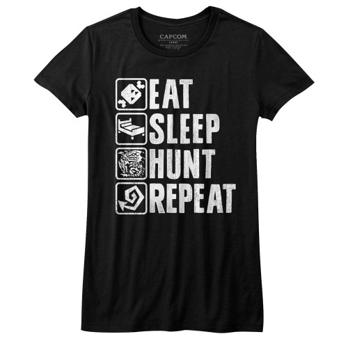 Image for Monster Hunter Girls T-Shirt - Hunt Repeat