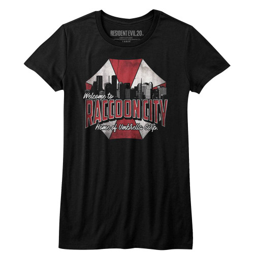 Image for Resident Evil Girls T-Shirt - Racoon City