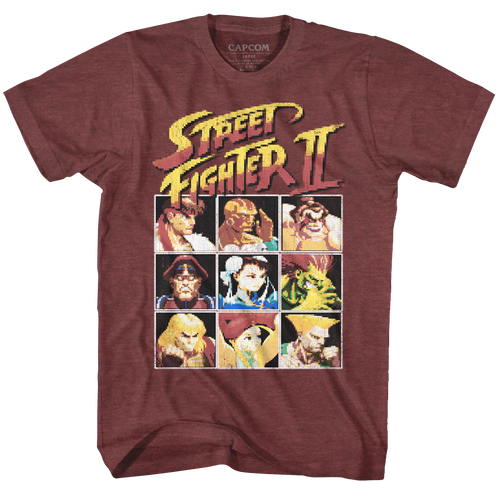 Image for Street Fighter 8 Bit T-Shirt