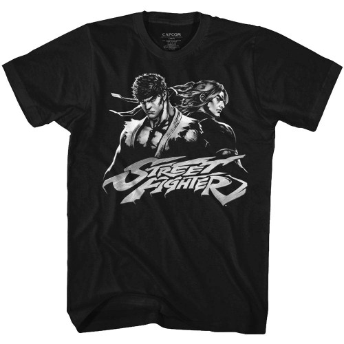 Image for Street Fighter Two Dudes T-Shirt