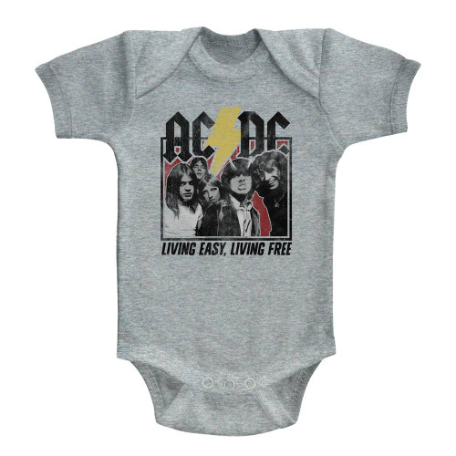 Image for AC/DC Highway to Hell Lyrics Infant Baby Creeper