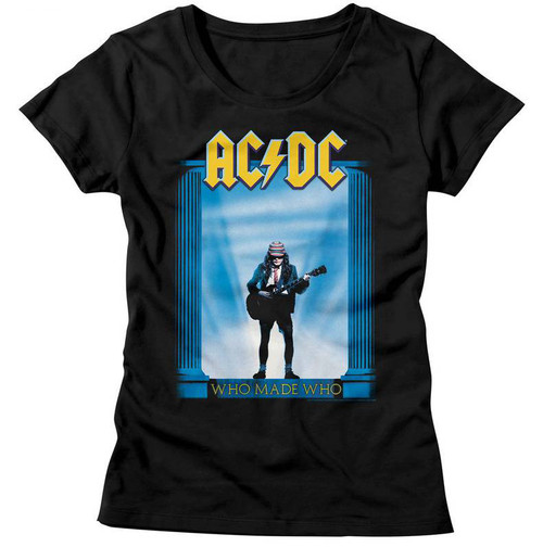 Image for AC/DC Girls T-Shirt - Who Made Who Classic