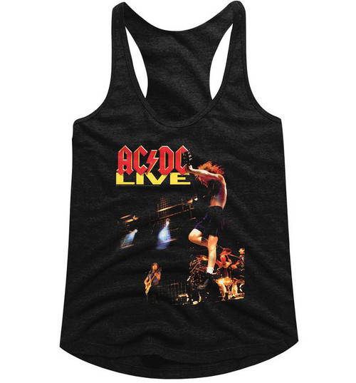 Image for AC/DC Live Classic Juniors Racerback Tank Top