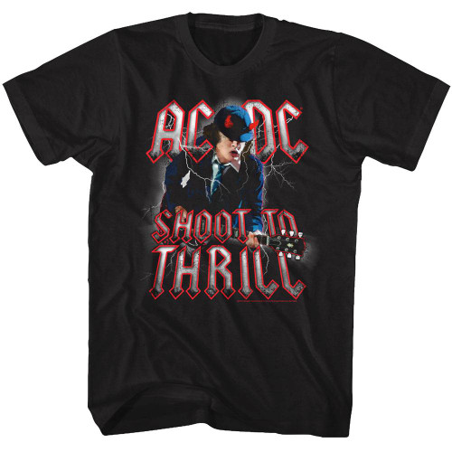 Image for AC/DC T-Shirt - Angus Shoot to Thrill Classic