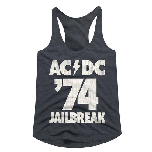 Image for AC/DC Jailbreak Classic Juniors Racerback Tank Top