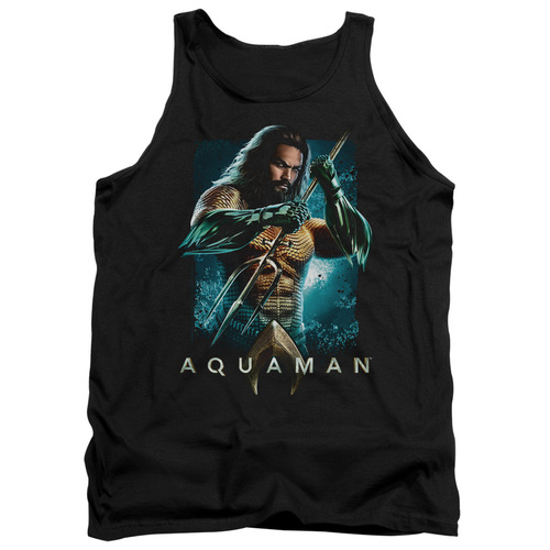 Image for Aquaman Movie Tank Top - Trident
