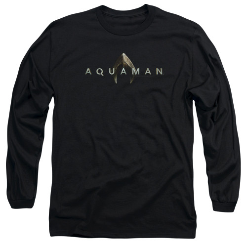 Image for Aquaman Movie Long Sleeve Shirt - Logo